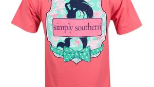 Simply southern Mermaid Shirt Simply southern Mermaid T Shirt Pink