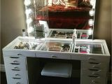 Slaystation Dressing Table top Impressions Vanity with Ikea Alex Drawers Vanity Room Pinterest