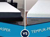 Sleep Science Vs Tempurpedic Casper Vs Tempurpedic Mattress Review Sleepopolis