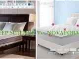 Sleep Science Vs Tempurpedic Costco Sleep Science 10 Inch Memory Foam Mattress Update Youtube