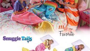 Snuggie Tails Blue Mermaid Snuggie Tails Pink Blue Mermaid soft Cuddly Blanket