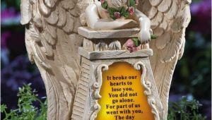 Solar Angels for Graves Amazon Com solar Lighted Weeping Angel Memorial Garden