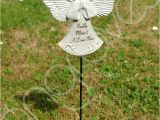 Solar Angels for Graves Sadly Missed Nan Guardian Angel Memorial Tribute