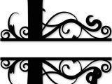 Split Letter Monogram Free 26 Best Monogram Split Letters Alphabet Images On
