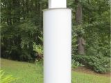 Squirrel Baffle for 4×4 Post Squirrel Baffle 4×4 Vinyl Post White Cylindrical 28