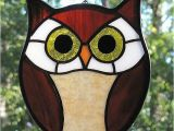Stained Glass Patterns Of Owls Owl Stained Glass Owls Pinterest Owl Glass and