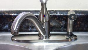 Stand Alone Kitchen Sink Sprayer How to Replace A Kitchen Sink Sprayer