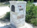 Stone Column Mailbox Kit Stone Mailbox Kits Highland Column Stacked Stone Mailbox