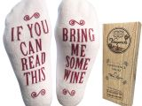 Sugar and Cotton Wine socks Amazon Com Bring Me some Wine Luxury Combed Cotton socks with