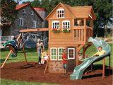 Summerstone Cedar Summit Playset Backyard Playground and Swing Sets Ideas Backyard Play