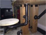 Swing Out Bar Stool Hardware Timber Workbench Workbenches Stools and Diy and Crafts