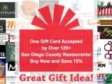 Synergy Gift Card San Diego Restaurants Synergy Gift Card Lamoureph Blog