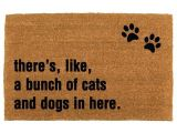 Theres Like A Bunch Of Dogs In Here Doormat 41 Best the Cheeky Doormat Images On Pinterest Colors