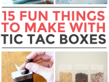 Tic Tac toe toilet Paper Holder Diy 15 Things to Make with Tic Tac Containers New Home Ideas