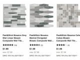 Tile App Discount Code 2017 Peel Stick Mosaic Tile Sheets Only 1 99 Each Reg 7 98