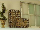 Tobacco Baskets Decor Steals tobacco Basket Wall Decor Bushel Basket