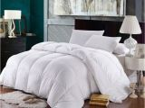 Top Rated Feather Down Comforter California King Size Down Comforter 500 Thread Count