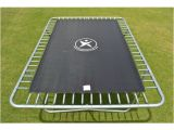 Trampoline Mat and Springs 10x17ft Rectangle Trampoline Replacement Mat for 104 X