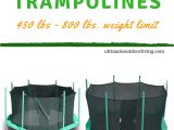 Trampoline Weight Limit 500 Heavy Duty Trampolines 450 Lb Weight Limit and 500 600