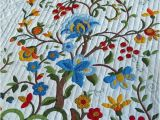Tree Of Life Quilt Pattern Applique Vintage Quilt Tree Of Life Pattern Amish Made by