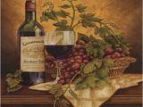 Tuscan Wine and Grape Kitchen Decor Set Of 8 Coasters Italian Wine Grapes I Kitchen Decor