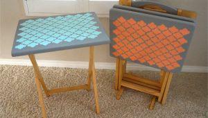 Tv Tray Set Ikea Tv Tray Table Upcycle Diy Inspired