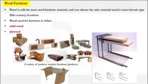 Types Of Materials Used In Furniture Making Research About Furniture Design