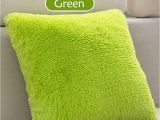 Types Of Pillow Stuffing 43 X 43cm Plush Cushion Pillow sofa Fluffy Throw Silver Grey Rose