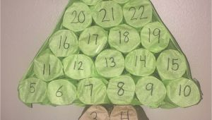 Unfinished Wooden Advent Calendar Tree Advent Calendar Christmas Tree Made From toilet Paper Rolls