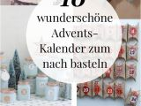 Unfinished Wooden Advent Calendar Tree Adventskalender Basteln 10 Kreative Bastelideen Holidays