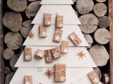 Unfinished Wooden Advent Calendar Tree Christmas Tree Made Stars Stock Photos Christmas Tree Made Stars