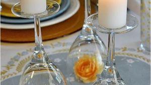 Upside Down Wine Glass Centerpiece Upside Down Wine Glass Wedding Centerpiece Easy Wedding Diy