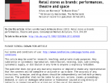 Used Appliance Stores Rochester Ny Pdf Retail Stores as Brands Performances theatre and Space