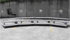 Used Choral Risers for Sale Lot Of 4 Wenger Choir Riser Choral Riser Grey 1