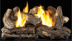 Ventless Gas Fireplace Logs Reviews 18 Quot Ventless Natural Gas Log Set 32 000 Btu Procom Heating