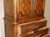 Vintage Thomasville Furniture Ebay Thomasville Oak Armoire Gentlemans Chest French