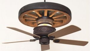 Wagon Wheel Ceiling Fan Light Copper Canyon Western Star Wagon Wheel Ceiling Fan