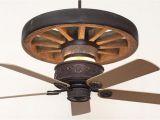 Wagon Wheel Ceiling Fan with Light Copper Canyon Western Star Wagon Wheel Ceiling Fan