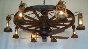 Wagon Wheel Ceiling Fan with Light Dxww037 60 8 Fan 1 Tier Wooden Wagon Wheel Chandelier W