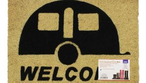 Well Hello there Doormat Uk Jvl Caravan Welcome Coir Pvc Backed Entrance Door Mat Rattan 36 X