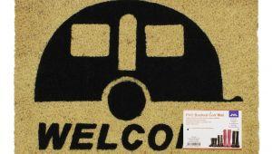 Well Hello there Doormat Uk Jvl Caravan Welcome Coir Pvc Backed Entrance Door Mat Rattan 36 X