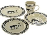 Western Dinnerware Sets Clearance Praying Cowboy Dinnerware Set 16 Pieces Rwsa9127