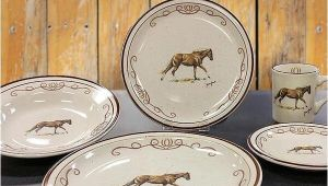 Western Dinnerware Sets Clearance Western Barbwire Dinnerware Set Cabin Place