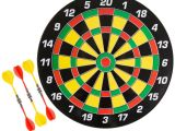 What are Dart Boards Made Of Hey Play 16 In Magnetic Dart Board Set Hw3400001 the