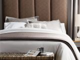 What Color Furniture Goes with Grey Headboard Humble Haute Victoria Tall Size Dark Chocolate Upholstered