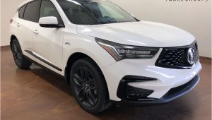 White Light Night Baton Rouge 2019 New 2019 Acura Rdx with A Spec Package 4d Sport Utility In Baton