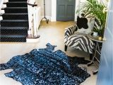 Who Sells Cowhide Rugs Near Me Black and Silver Metallic Natural Cowhide Rug by Mahi Leather