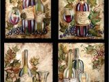 Wine and Grape Kitchen Decor Ideas Wine Bottle Grapes On Wine Bottles Tre sorelle Art for
