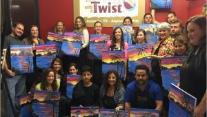 Wine and Paint San Antonio Painting with A Twist San Antonio Texas Tx