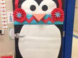 Winter Door Decorations for Classroom Door Winter Classroom Door who Doesn T Love A Penguin with A Chevron